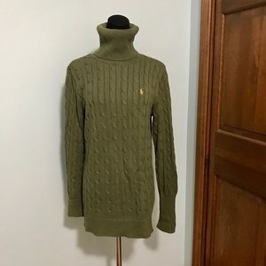 Ralph Lauren long cable knit